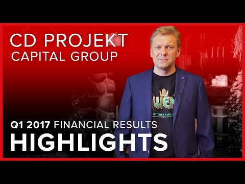 [EN] CD PROJEKT Capital Group - Q1 2017 financial results | HIGHLIGHTS
