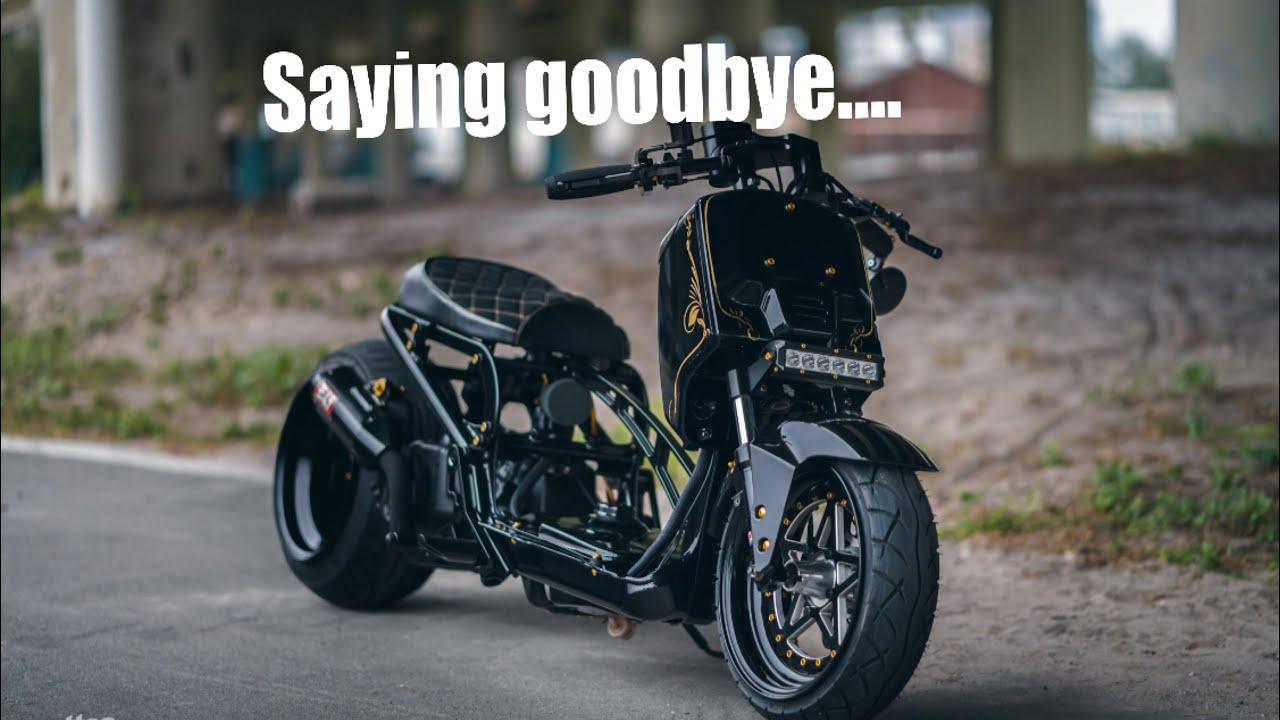 Giving away my Honda ruckus..
