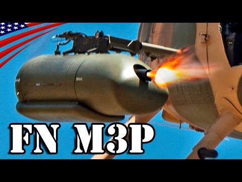 FN M3P .50 Cal Machine Gun Fire - 1100 Rounds Per Minute Firing Rate - FN M3P 12.7mm重機関銃 - 毎分1100発