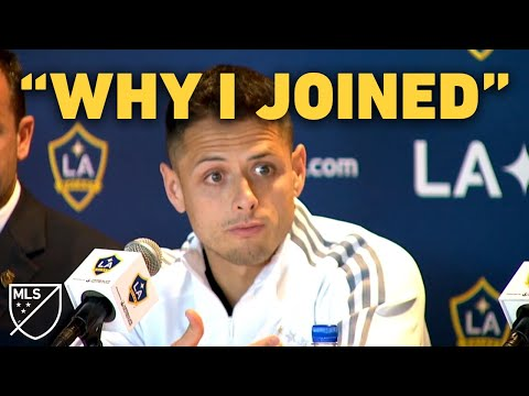 """Chicharito: """"This Is Why I Came To LA Galaxy"""""""