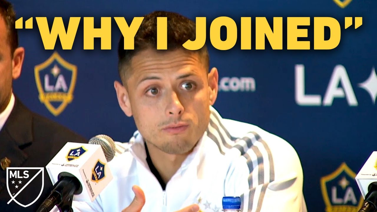 "Chicharito: ""This Is Why I Came to LA Galaxy"""