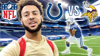 GAME DAY VLOG... Colts vs Vikings