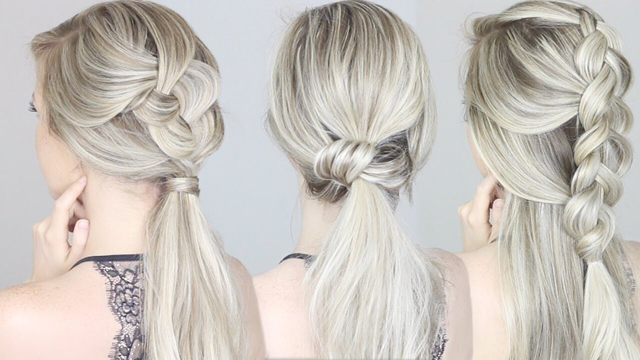 Hair Styles For Summer: QUICK & EASY Hairstyles For Summer