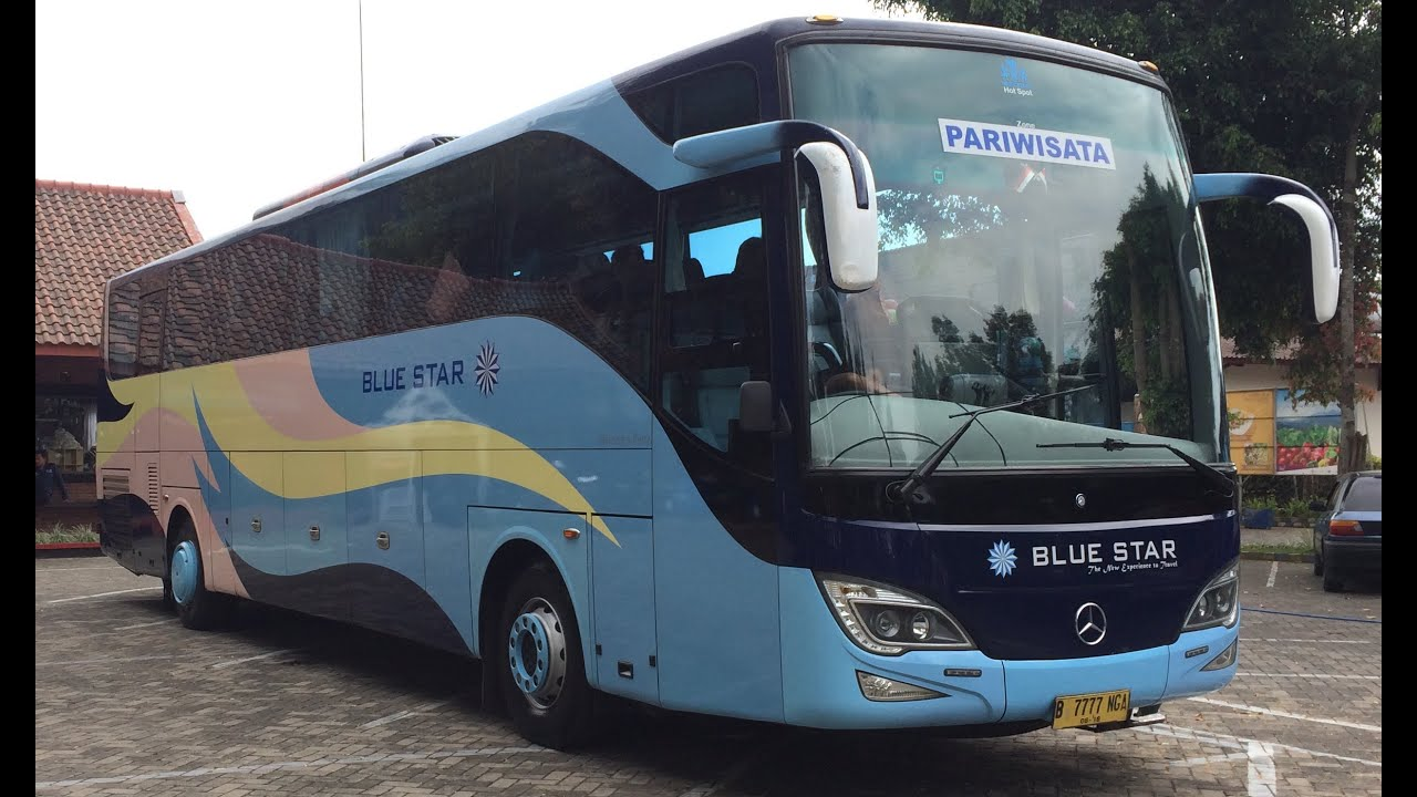 bismania blue star mercedes benz oh 1836 o500r indonesia