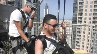 Amazing Zipline Dubai - Burj Khalifa