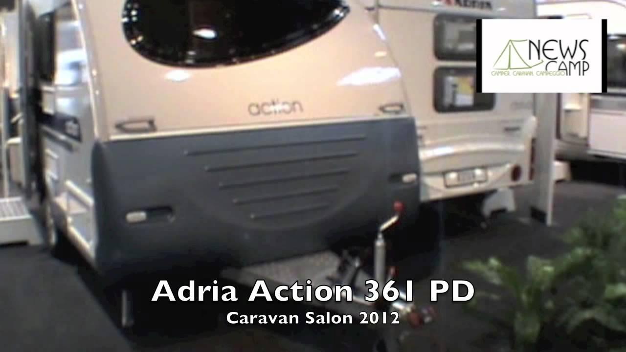 2018 adria action 361 LH - YouTube
