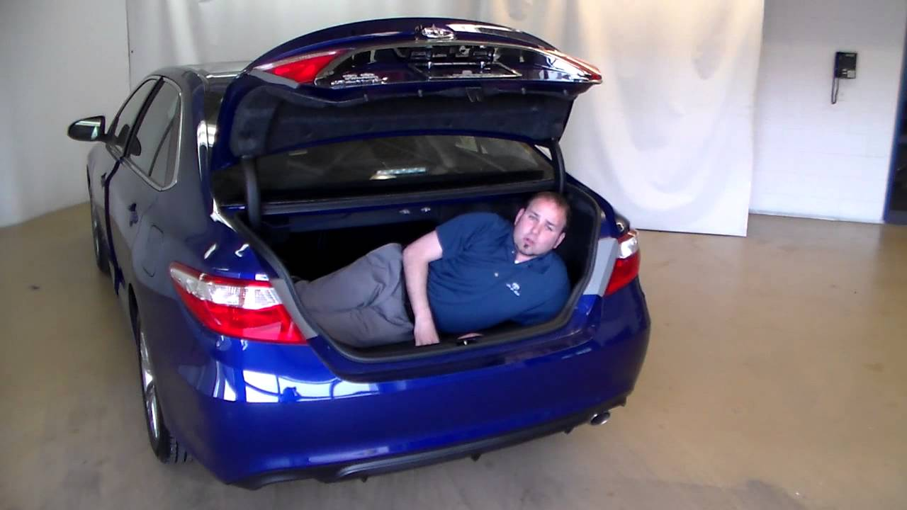 Camry Trunk Space Youtube