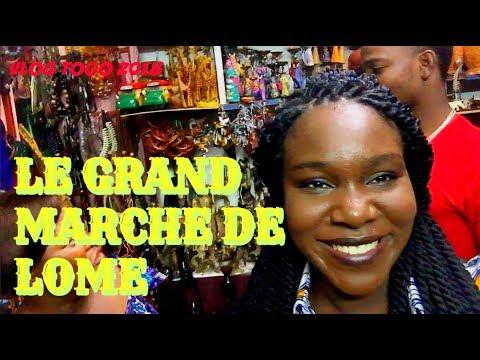 VLOG TOGO: Grand Marché Lomé / Ayélévi