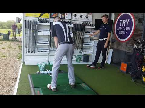 AMERICAN GOLF CUSTOM CLUB FITTING EXPERIENCE - What's GOING In The Bag?  (19to9 Episode 2)