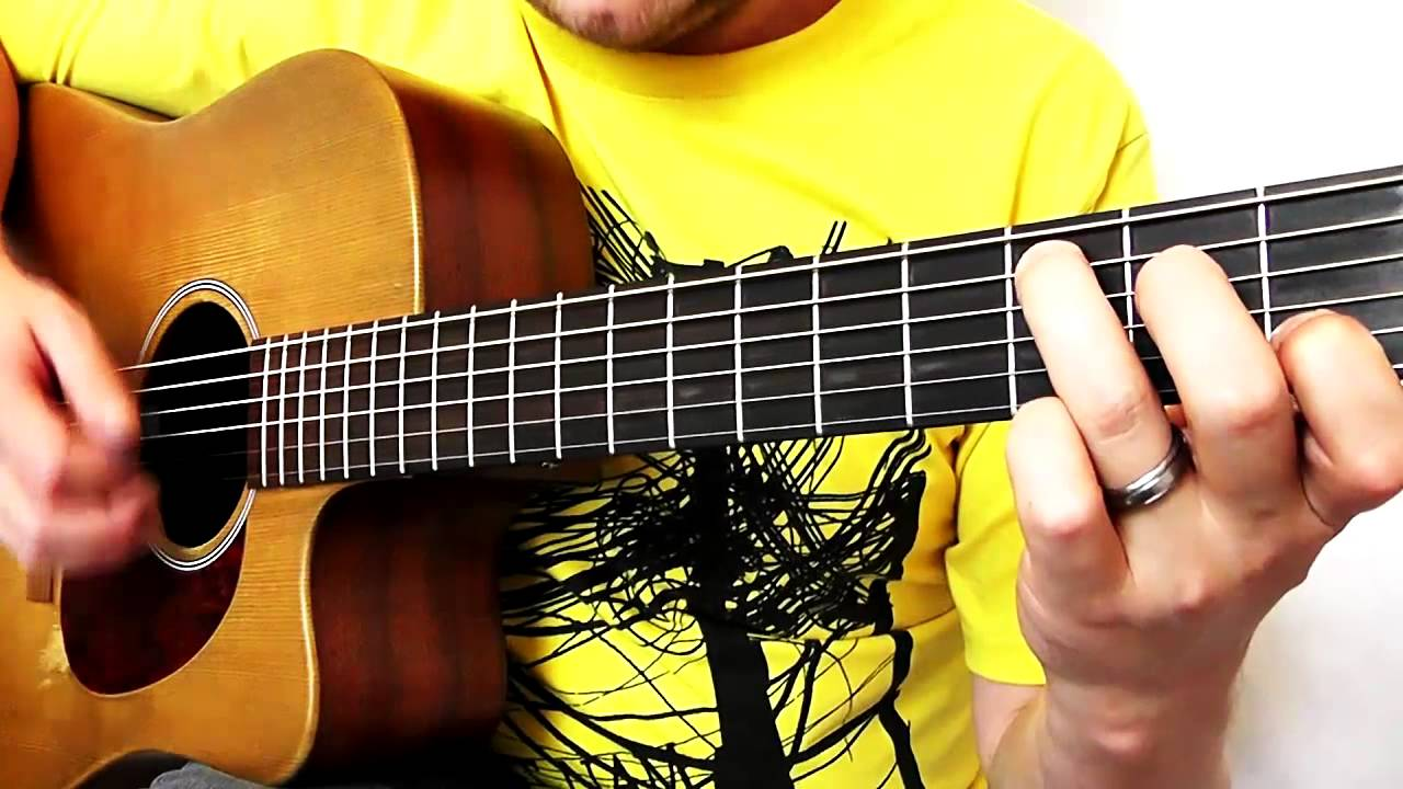 All About You Guitar Tutorial Mcfly Drue James Youtube