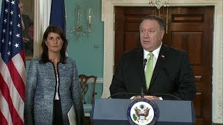 Remarks on UN Human Rights Council by Secretary Pompeo and Ambassador Haley