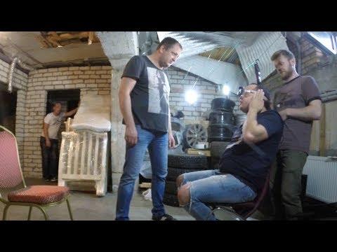 РАДОНЦЕВА ИЗБИВАЮТ (на съемках Павлик 5 Сезон)
