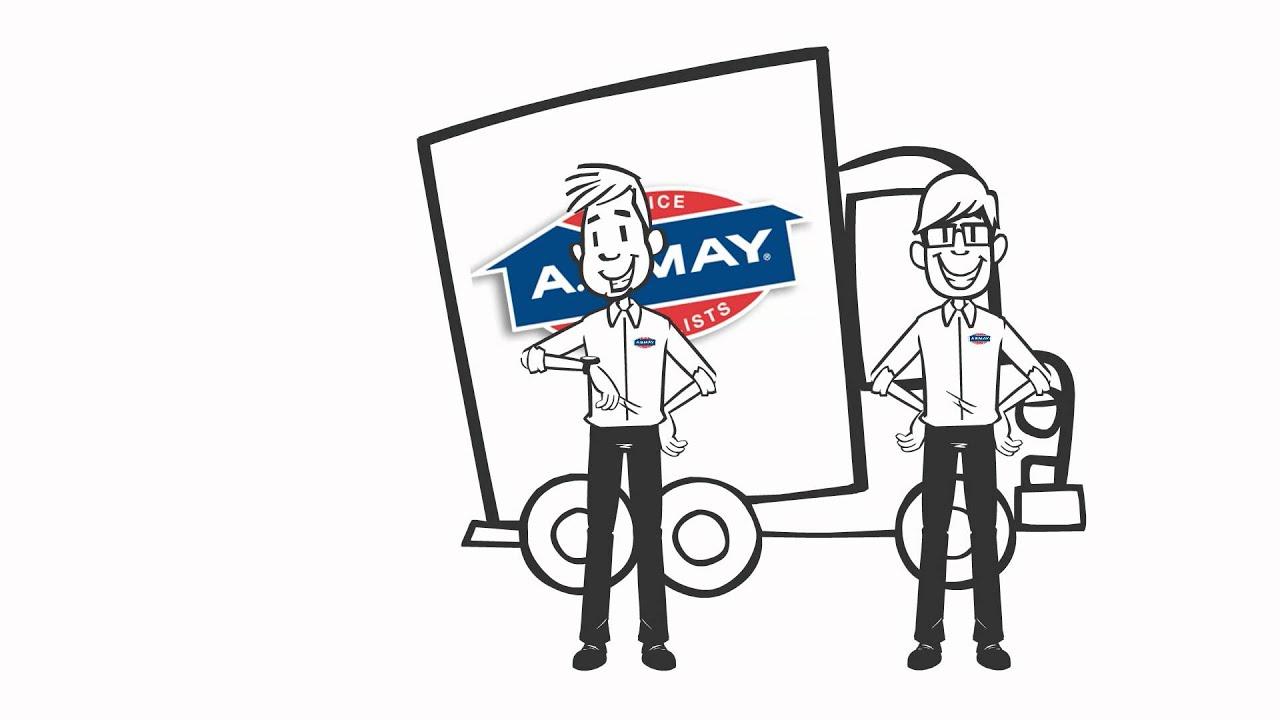 medium resolution of plumbing hvac services kansas city a b may company