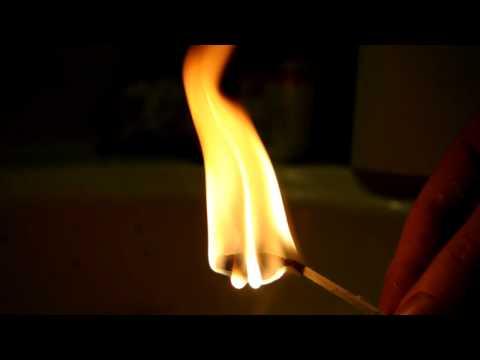 Igniting Polystyrene Glue