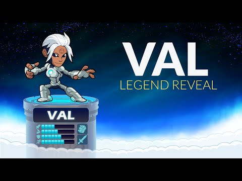 VAL - Brawlhalla Legend Reveal