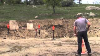 testing ar500 targets with 22 lr