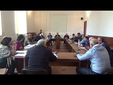 Արթիկի ավագանու արտահերթ նիստ 15/04/2021 թվական