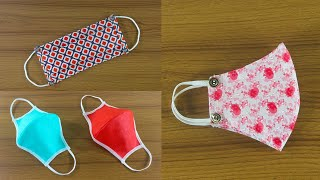 Top 3 Face Mask Making ideas 3 Awesome Face Mask Designs 3 Best Handmade Face Mask