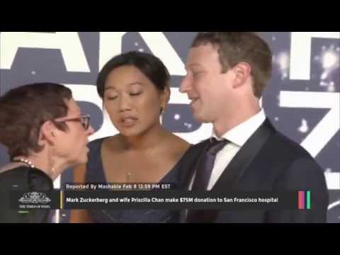 Mark Zuckerberg and Wife Priscilla Chan Make $75M Donation - TOI