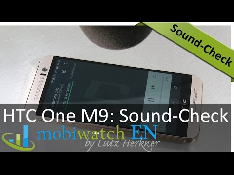 Sound-Check HTC One M9: That's How the Stereo Speakers Sound Like