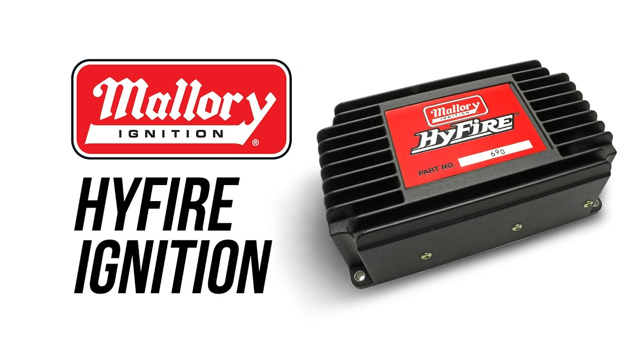 small resolution of mallory hyfire ignition youtubemallory hyfire wiring diagram 6