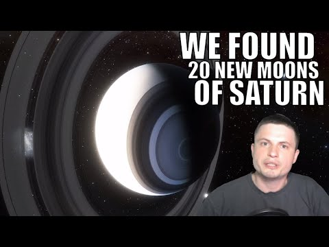 We Just Found 20 New Moons of Saturn and You Can Name Them!