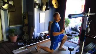 DB Split Squat