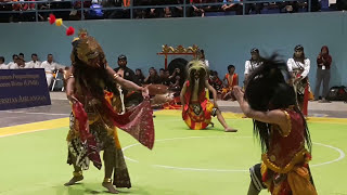 Airlangga Taruna Budaya, dlm acara turnamen Pencak Silat se Indonesia di GOR Universitas Airlangga