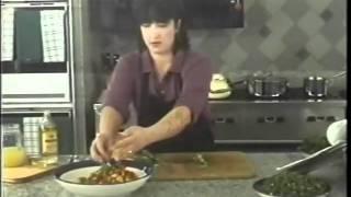Chunky eggplant salad