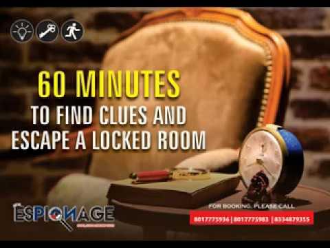 """Espionage Kolkata """"Espionage- Spies, Lies & Sneaky Guys"""""""