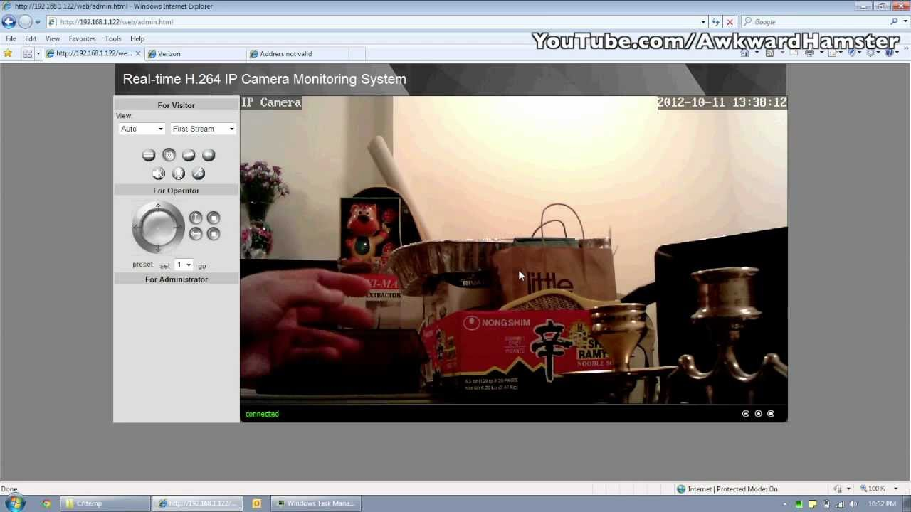 Hipcam ip camera