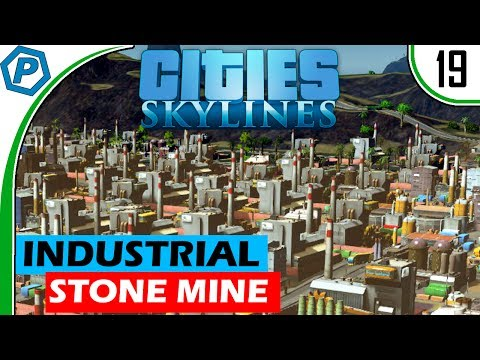 Cities Skylines   Industrial Sized Stone Mine   Natural Disasters   Deepford   19