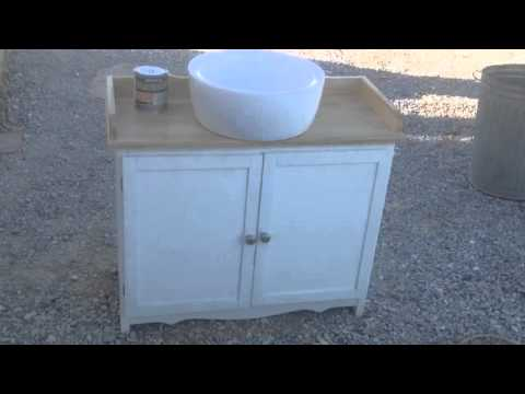Waterproofing Bathroom countertop how to add wood sealer stain