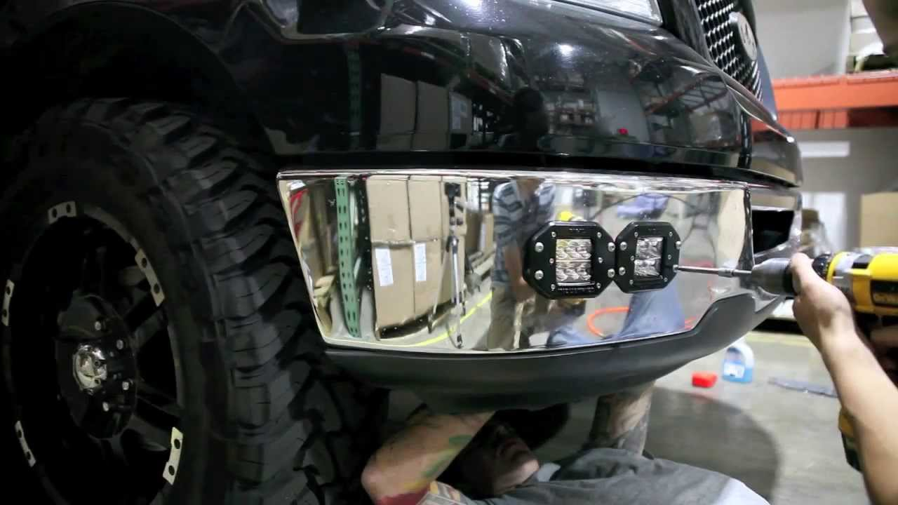 Rigid Industries D Series Flush Mount Install Youtube