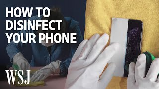 How Many Disinfecting Wipes Can Your Smartphone's Screen Take?  | WSJ