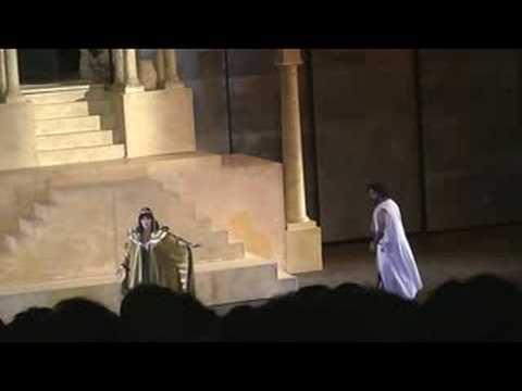 Efe KISLALI-Radames, Amneris Duet Act 4 AIDA-VERDI Premiere