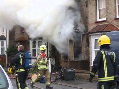 Brunel Road house fire in Woodford Green