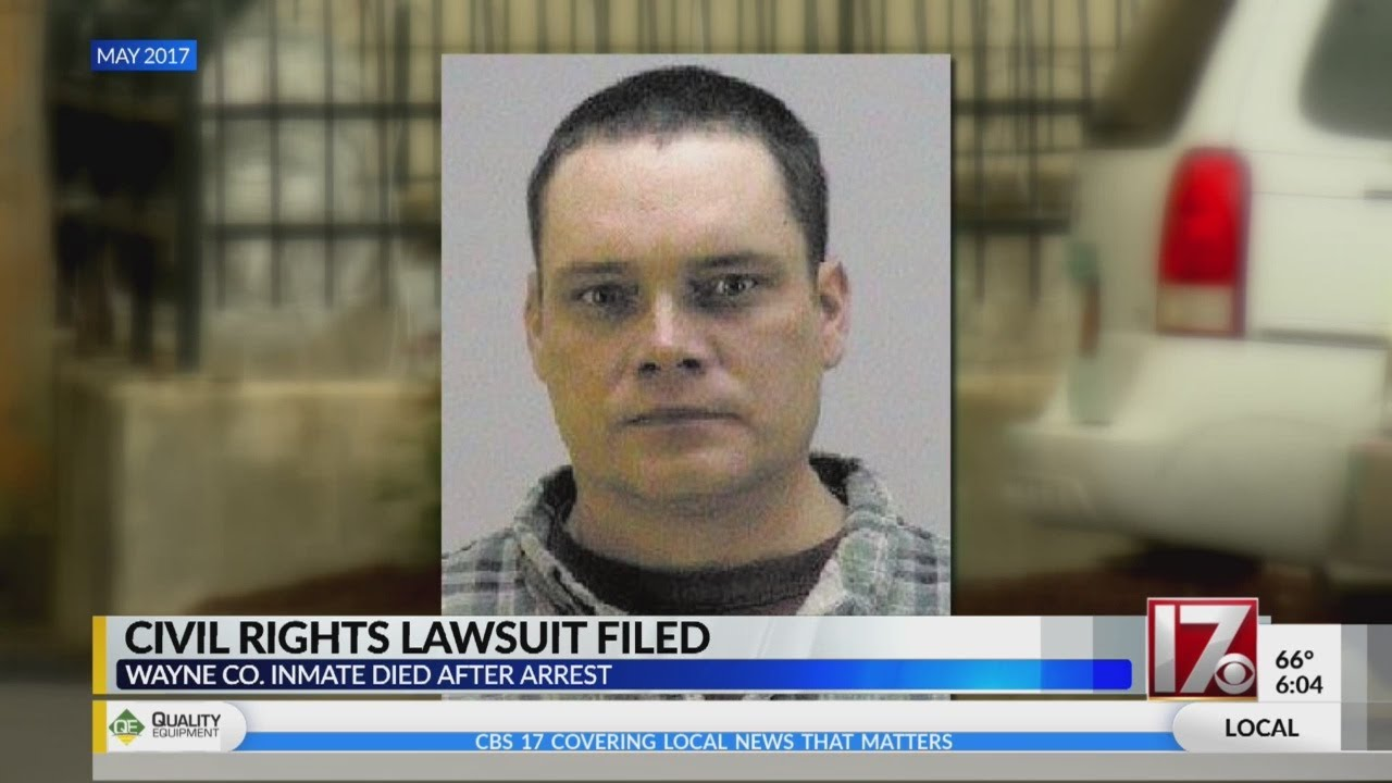 Family of Wayne County inmate who died after arrest files lawsuit