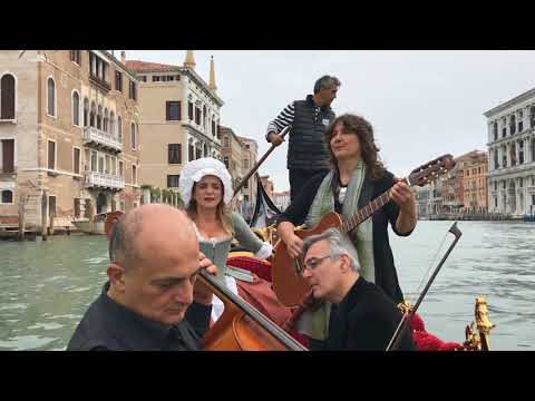 Rachele Colombo - CANTAR VENEZIA tra rive e canali - LIVE 4tet