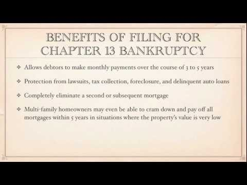 Chapter 13 Bankruptcy is frequently referred to as a 'wage earner' plan, although it actually applies to individuals with income from any source, not just wages. It is used by people employed by others or self-employed individuals in their own business to re-pay their debt over a reasonable period of time, typically 3-5 years. Chapter 13 permits a debtor to pay a percentage of their unsecured debt back based on the debtor's ability.