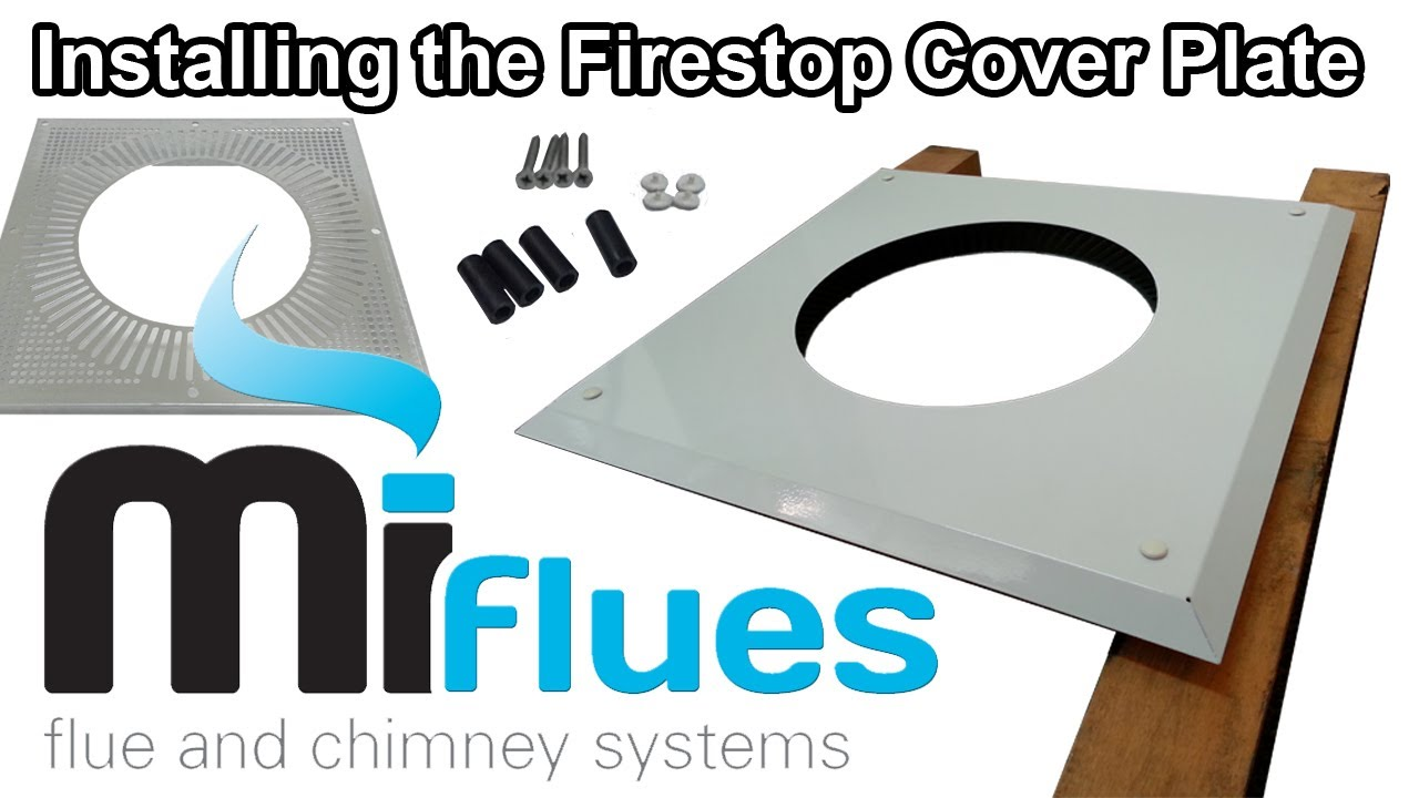 Firestop Cover Plate Installation Apply A Pleasing