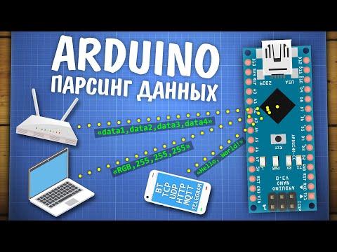 Уроки Arduino. Общение по Serial, парсинг данных, протоколы связи
