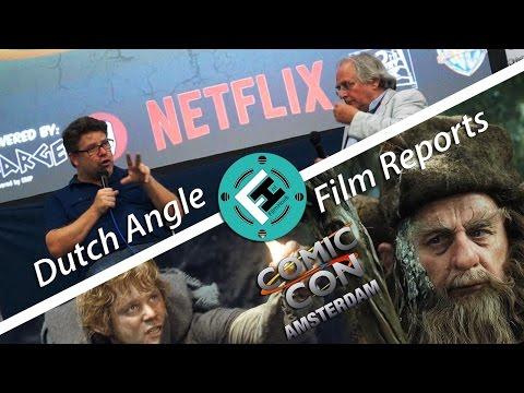 Tolkien Talk with Sean Astin & Sylvester McCoy - Comic Con Amsterdam