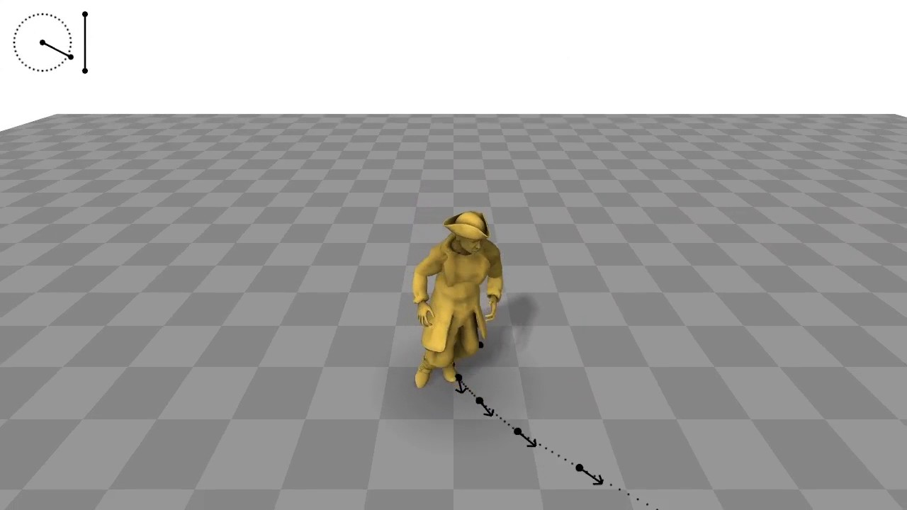 Phase-Functioned Neural Networks for Character Control by Yoshiboy2