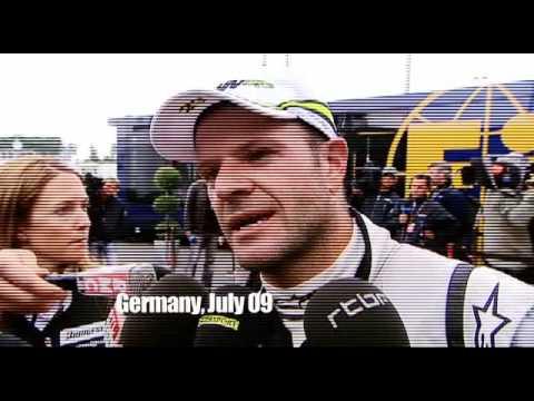 Eddie Jordan and Rubens Barrichello