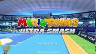 Nintendo Wii U Longplay [014] Mario Tennis Ultra Smash