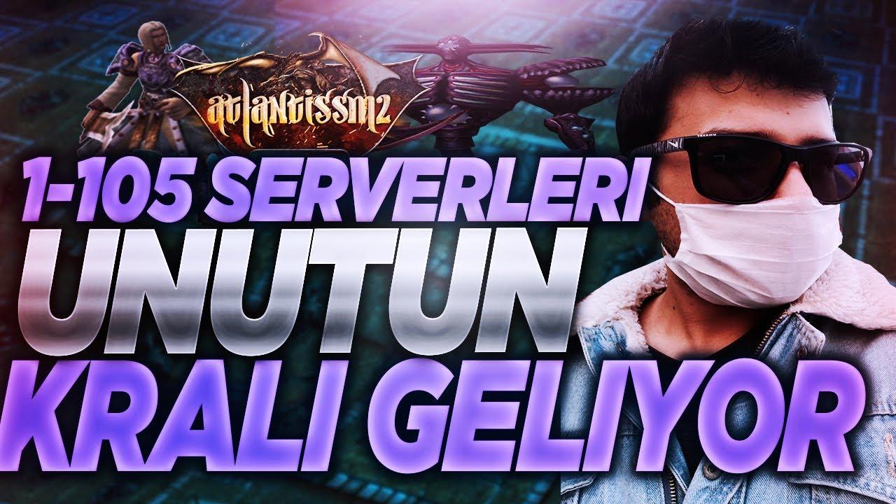 1-105 EN KRAL SERVER GELIYOR !!!!  #METİN2 #ATLANTİS2