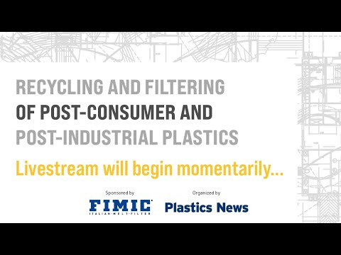 Recycling and Filtering of Post-Consumer and Post-industrial Plastics