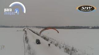 Параплан Zorro 22 Sky Paragliders  Старт по ветру