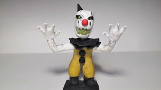 Слепил клоуна из Dark Deseption|урок лепки